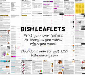 Print your own leaflets. As many as you want, when you want